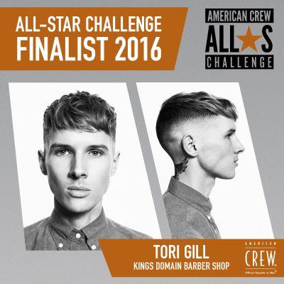Tori Gill - Kings Domain Barber Shop