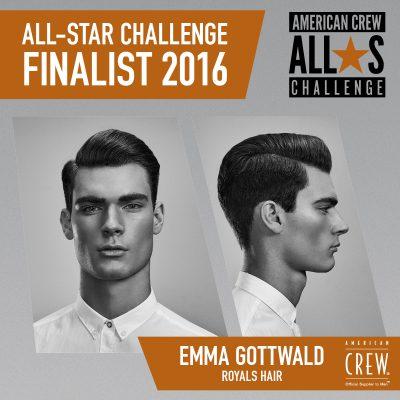 Emma Gottwald - Royals Hair