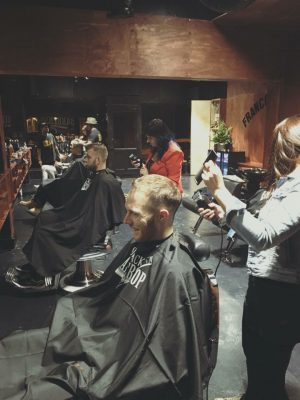 Code Black Barbershop in action