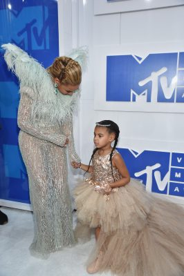 NEW YORK, NY - AUGUST 28: Beyonce and Blue Ivy Carter attend the 2016 MTV Video Music Awards on August 28, 2016 in New York City. (Photo by John Shearer/Getty Images for MTV.com)