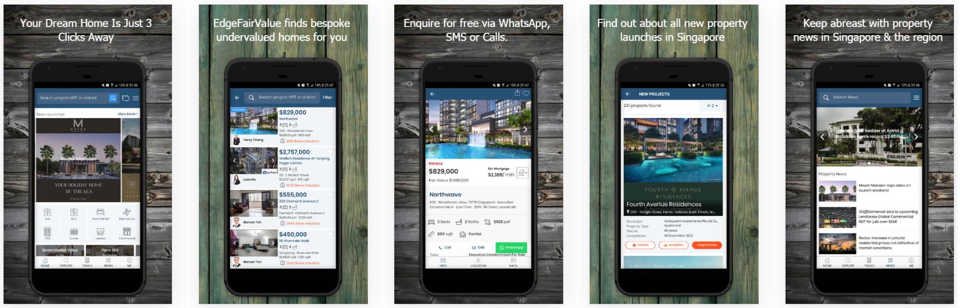 EdgeProp Award Winning App