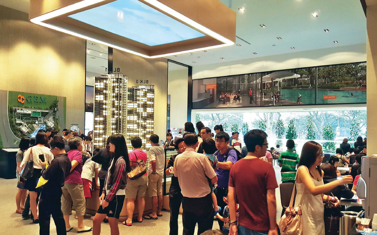 More than 1,000 people are said to have registered their interest in Gem Residences. Source: Gem Residences.