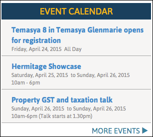 property events calendar