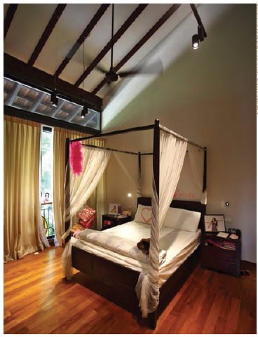 One of the children's bedrooms