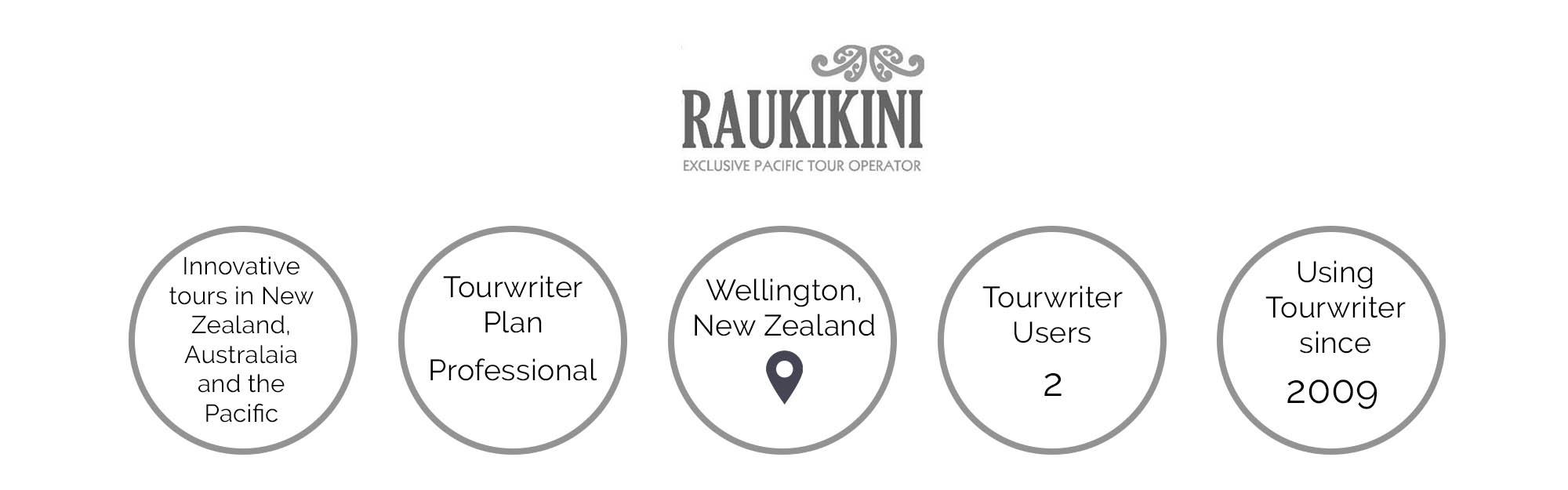 Raukikini tour operator
