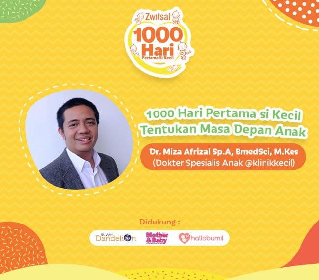 1000 Hari Pertama Si Kecil Tentukan Masa Depan Anak