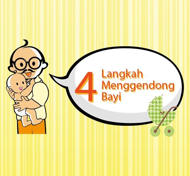 Zwitsal | 4 Langkah Menggendong Bayi