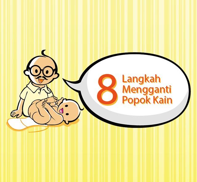 Zwitsal   Bunda, Ini 8 Langkah Mengganti Popok Kain Bayi