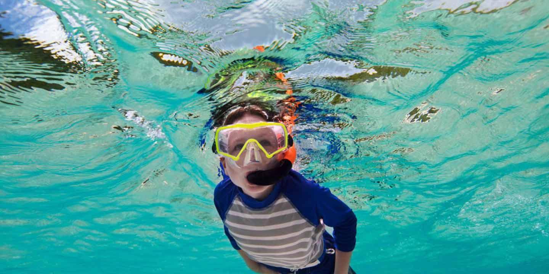 Si Kecil Juga Bisa Diajak Snorkeling, Lho