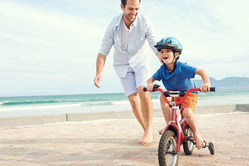 Mengajari si Kecil Bersepeda