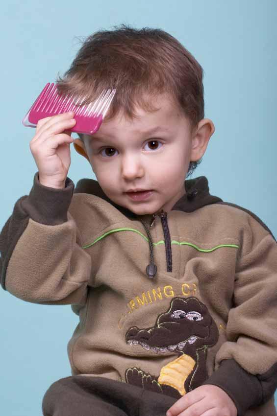 Agar Rambut Bayi Tak Kusut Lagi