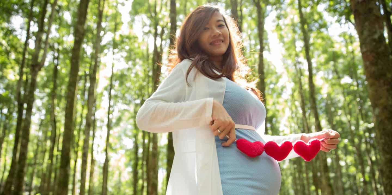 [Kehamilan Bulan 8] Padu Padan Maxi Dress Percantik Kehamilan