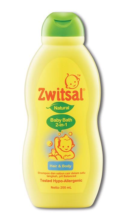 Lebih Hemat dengan Zwitsal 2in1 Hair & Body Wash
