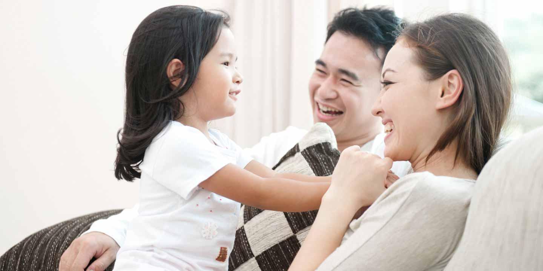 Cara kompak mengasuh anak bareng suami