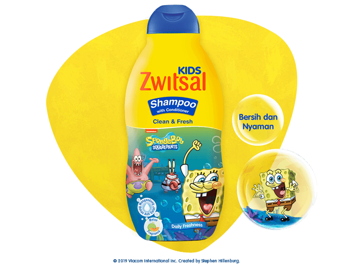 Zwitsal Kids Shampoo Clean & Fresh Blue