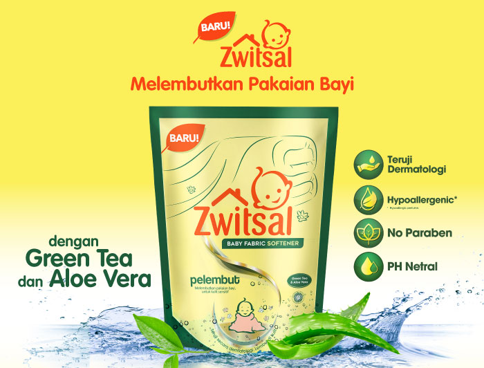 Zwitsal Baby Fabric Softener