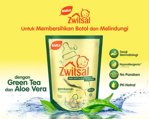 Zwitsal Baby Bottle & Utensils Cleaner