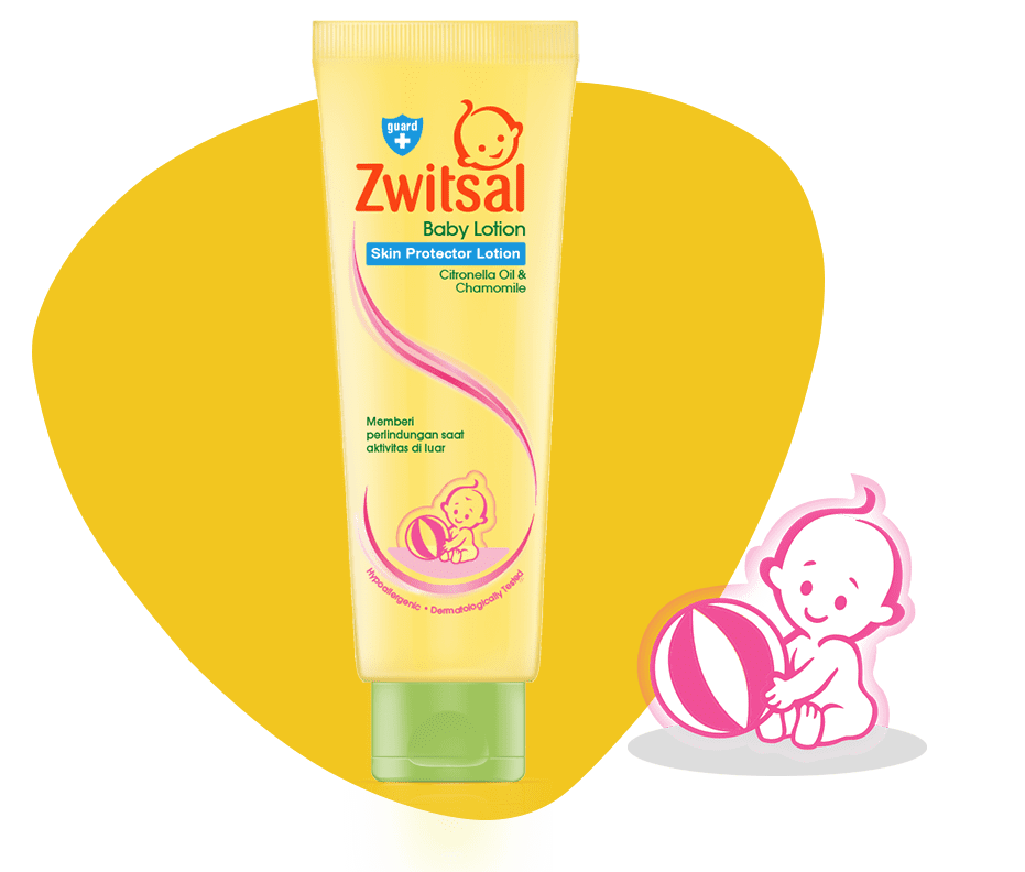 Zwitsal Skin Protector Lotion