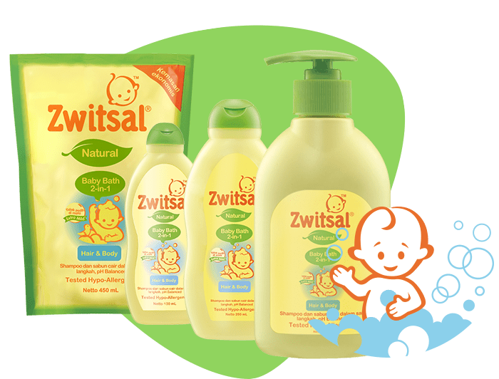Baby Bath Natural 2in1 Hair and Body