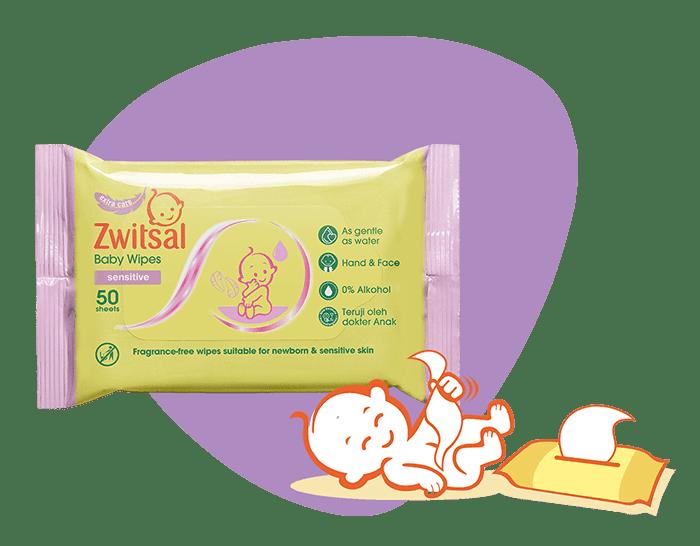 Zwitsal Baby Wipes Sensitive