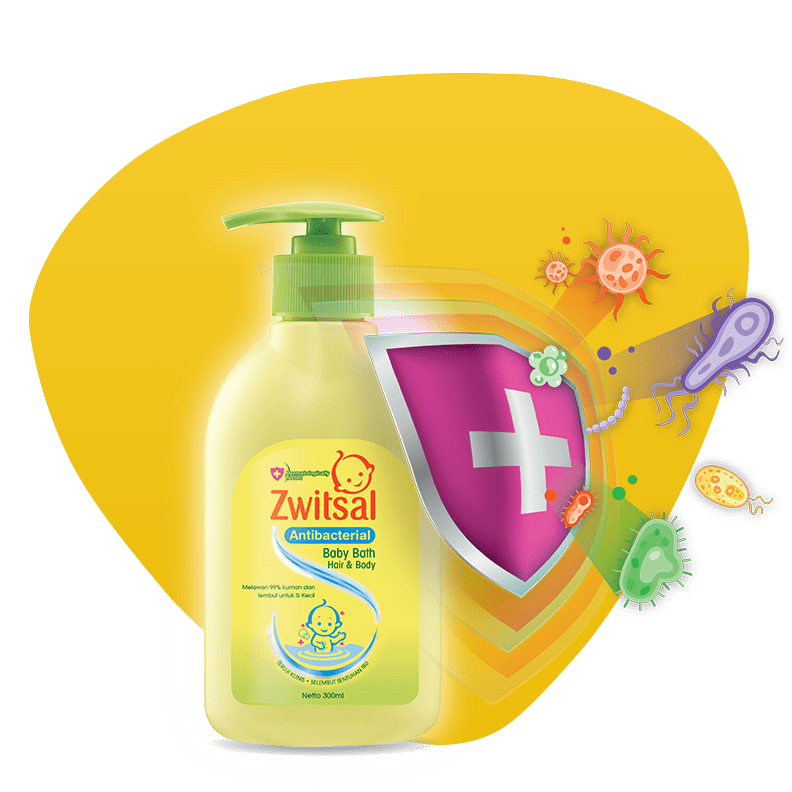 Zwitsal - Hair & Body Bath Antibacterial