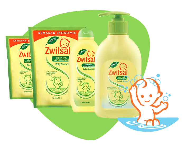 Baby Shampoo Natural with Aloe Vera Kemiri Seledri