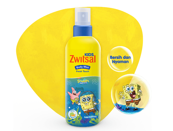 Zwitsal Kids Body Mist Fresh Touch Blue