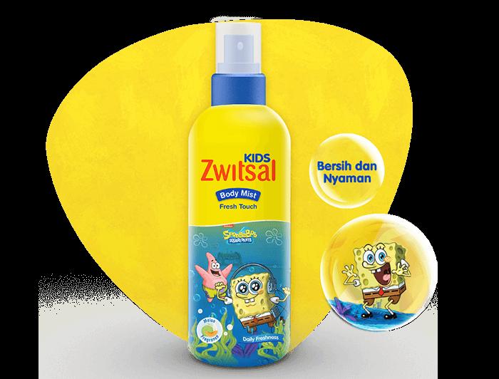 Zwitsal Kids Body Mist Fresh Touch Blue