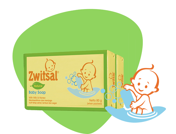 Baby Bar Soap Natural with Milk and Honey