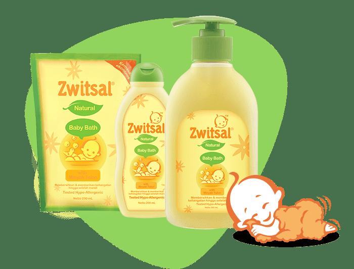 Natural Baby Bath with Minyak Telon
