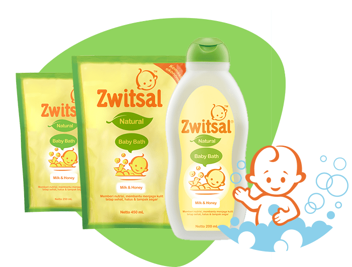 Baby Bath Natural with Milk and Honey