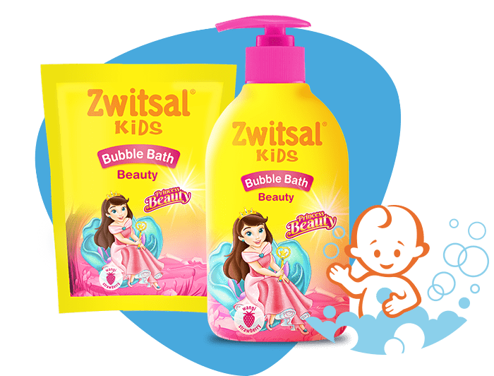 Zwitsal Kids Bubble Bath Beauty Pink