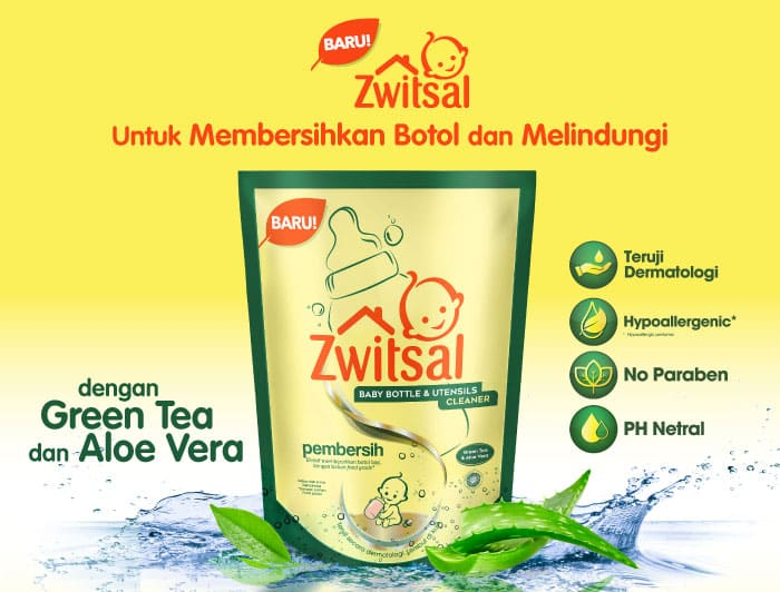 Zwitsal Baby Bottle & Utensils Cleaner