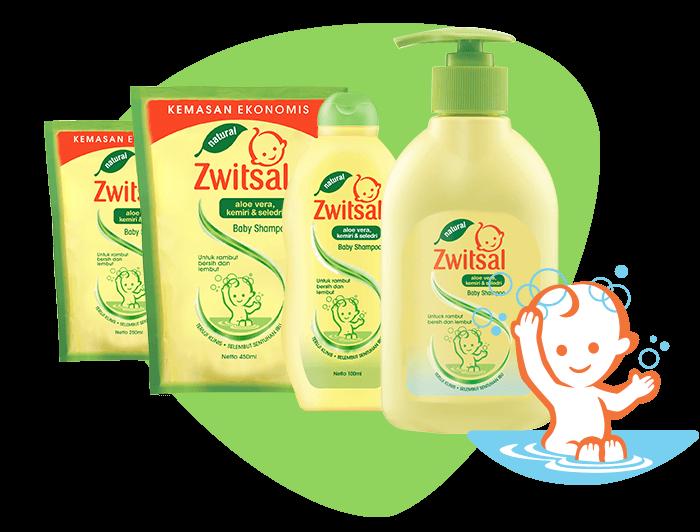 Baby Shampoo Natural with Aloe Vera Kemiri Seledri