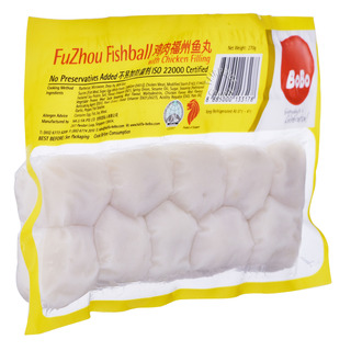 BoBo Fuzhou Fish Ball with Chicken Fillings
