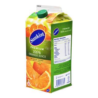 Sunkist Pure Premium 100% Juice - Orange