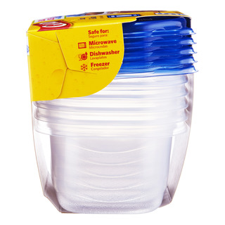 Glad Container with Lid - Soup & Salad (M)