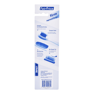 FairPrice Impact Toothbrush - Firm