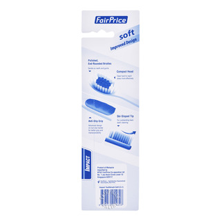 FairPrice Impact Toothbrush - Soft