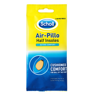 Scholl Half Insoles - Air-Pillo