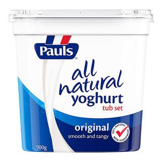 Paul's All Natural Yoghurt - Original