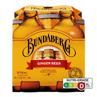 Bundaberg Bottle Drink - Ginger Beer