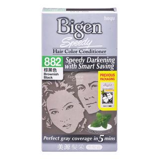 Bigen Speedy Hair Color Conditioner - Brownish Black
