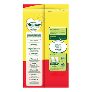 Nespray Fortified Instant Milk Powder - Full Cream