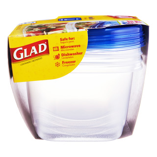 Glad Container with Lid - Deep Dish (L)