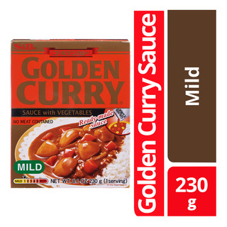 S&B Golden Curry Sauce Mix - Mild