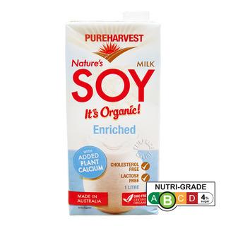 Pureharvest Organic Nature's Soy Milk - Calcium