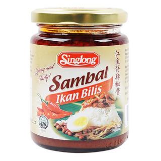 Singlong Sauce - Sambal Ikan Bilis