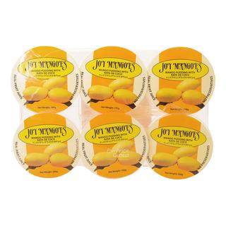 Joy Mangoes Mango Pudding with Nata De Coco 6 x 100g