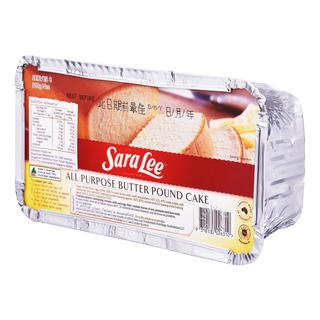 Sara Lee Frozen Pound Cake - All Purpose (Plain)